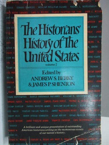 【書寶二手書T7/歷史_KQU】The Historians History of the United States