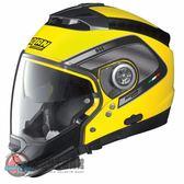 [中壢安信] 義大利 Nolan N44 彩繪 TECH 黃 半罩 安全帽 可裝藍芽 內墨片 下巴可拆 四分之三