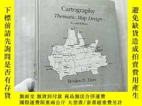 二手書博民逛書店Cartography罕見Tbematic Map Design