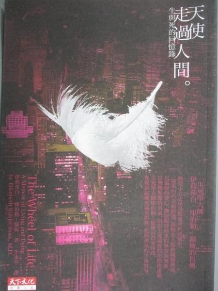 【書寶二手書T1/翻譯小說_KBL】天使走過人間-生與死的回憶錄_李永平, 伊莉莎白庫伯勒-羅斯