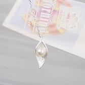 項鍊 925純銀珍珠墜子-優雅氣質生日情人節禮物女飾品73gx18【時尚巴黎】