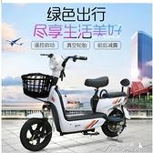 台灣現貨 新款成人電動自行車長跑王48V 男女小型助力雙人鋰電電瓶車代步車 快速出貨