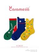 caramella兒童襪子春秋純棉襪男女童寶寶襪子新生兒中筒襪嬰兒襪 全館免運