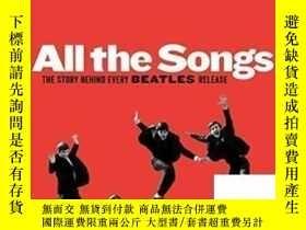 二手書博民逛書店All罕見The Songs: The Story Behind