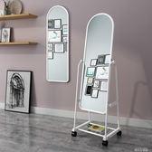 全身鏡子 穿衣鏡 落地鏡 試衣鏡 化妝鏡 服裝鏡 壁掛墻鏡QM 依凡卡時尚