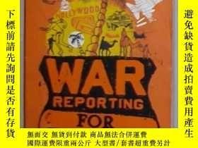 二手書博民逛書店英文原版罕見War Reporting for Cowards