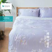 Minis 100%純天絲40支 床包兩用被套四件組 雙人加大 佛爾茲