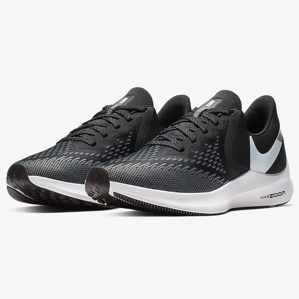 Nike Air Zoom Winflo 6 女鞋 慢跑 休閒 氣墊 避震 黑【運動世界】 AQ8228-003