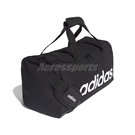 adidas 手提包 Linear Logo Duffel Bag 黑 白 男女款 斜背 健身包 運動休閒 【PUMP306】 FL3693