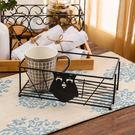 黑砂貓頭鷹置物籃-生活工場