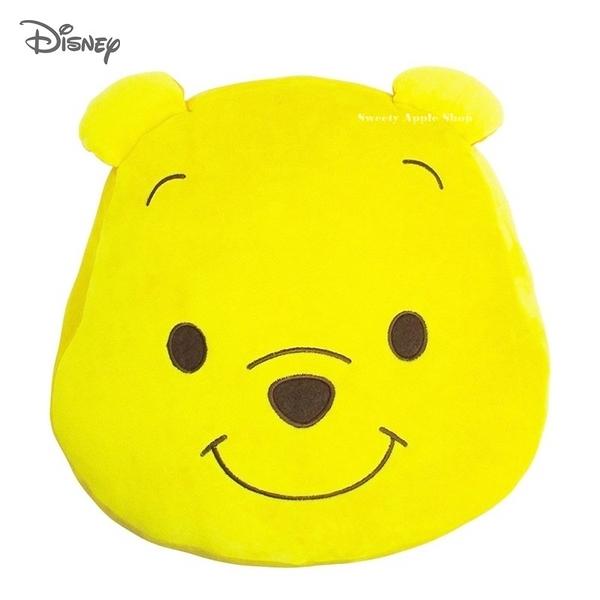日本限定 迪士尼 小熊維尼  大臉版  抱枕玩偶 33cm