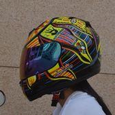 摩托車頭盔男女士頭盔四季全盔卡丁車賽車越野雙鏡片機車防霧個性igo      蜜拉貝爾
