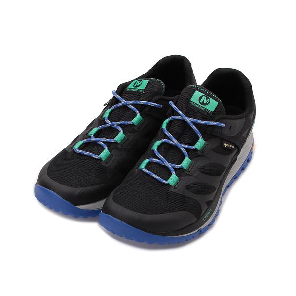 MERRELL ANTORA GORE-TEX 防水戶外鞋 黑/寶藍 ML066122 女鞋 登山│健行│郊山│越野│多功能