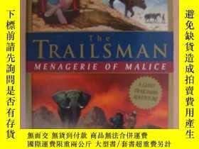 二手書博民逛書店The罕見Trailsman--Menagerie of Mal