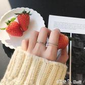 戒指 手工純銀開口戒指女日韓潮人學生 食指戒指女個性戒指男 「潔思米」