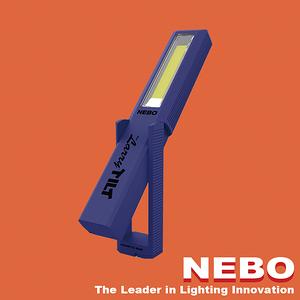 【NEBO】Larry Tilt任意傾斜COB LED手電筒-活力藍