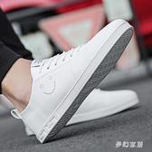 小白鞋 小白板鞋韓版潮鞋新款潮流休閑小白鞋 ZQ2854『夢幻家居』