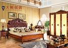 【大熊傢俱】RE804 新古典床  床架  雙人床台 雙人床 新古典 皮床 歐式古典  歐式 五尺床 六尺床