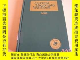 二手書博民逛書店CURRENT罕見BIOGRAPHY YEARBOOK 2001