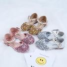 女童涼鞋2019新款韓版夏季兒童小公主鞋女孩鞋子水晶包頭中大童鞋 嬌糖小屋