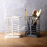 618好康鉅惠 三角桌面收納籃餐具西餐刀叉勺收納筷籠