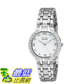 [104美國直購] 手錶 Citizen Women s EM0120-58A Bella Stainless Steel and Diamond Eco-Drive Watch$15162