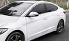 【車王汽車精品百貨】現代 Hyundai Super Elantra 後視鏡飾條 後視鏡鏡亮條 方向鏡裝飾 裝飾框