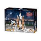 《 BanBao 邦寶積木 》Snoopy 史奴比70周年太空系列-火箭發射站(304片) / JOYBUS玩具百貨
