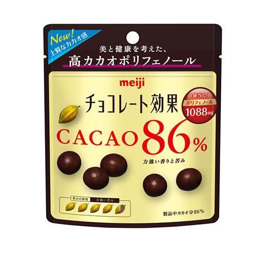 明治CACAO86%黑巧克力球-袋裝37g【愛買】