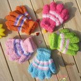 小孩手套男女冬可愛保暖寶寶手套珊瑚絨創意手襪兒童魔術手套【購物節限時優惠】