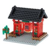 《 Nano Block迷你積木 》NBH-007R 雷門-Nanoblock十週年版本(透明Ver.)╭★ JOYBUS玩具百貨