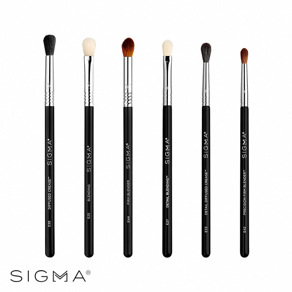 Sigma 終極眼影暈染刷具六件組 Ultimate Blending Brush Set - WBK SHOP