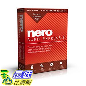 [106美國直購] 2017美國暢銷軟體 Nero Burn Express 3 [Old Version]