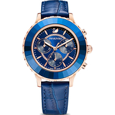 SWAROVSKI施華洛世奇 Octea Lux Chrono手錶 5563480 藍