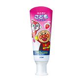 日本獅王麵包超人牙膏-草莓40gX6支