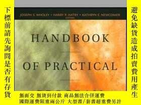 二手書博民逛書店Handbook罕見of Practical Program Evaluation, 2nd EditionY