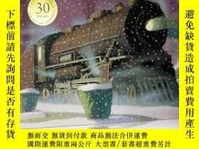 二手書博民逛書店英文原版罕見The Polar Express 極地特快Y210