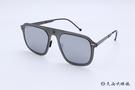 ROAV 偏光太陽眼鏡 Virgil - Mod.8003 ( 鐵灰框/白水銀 ) 薄鋼折疊墨鏡