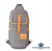 【COLORSMITH】BG.單肩後背包.BG1381-GY