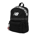 New Balance 後背包 Classic Backpack 黑 白 女款 兒童款 運動休閒 【PUMP306】 LAB03004BK