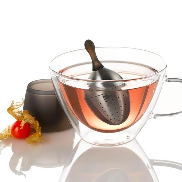 德國AdHoc 不鏽鋼漂浮濾茶器 泡茶 品茗配件 茶器 午茶時光 休閒聚餐 好生活