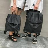 大容量雙肩包男士背包防水旅行牛津布休閒包韓版高中生學生書包-Ifashion
