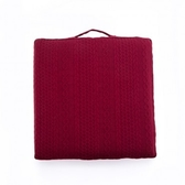 HOLA 織理舒壓立體大坐墊47x47cm 紋紅