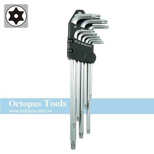Octopus 中空星型扳手9支組 T10-T50(486.4270)