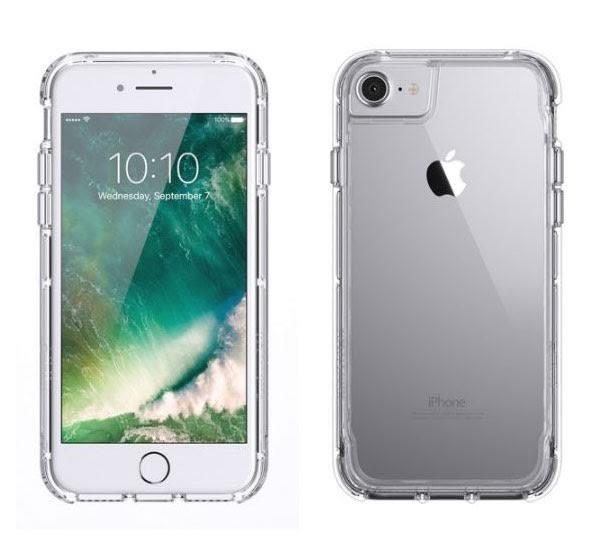 【漢博】Griffin Survivor Clear iPhone 7 Plus軍規防摔殼 - 透明邊框