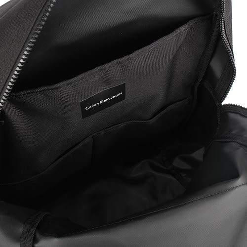 Calvin Klein 經典帆布LOGO後背包(黑色)103336