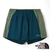 The North Face 男 FlashDry快排5吋短褲-深藍綠 CKU9Y8M-AA【GO WILD】