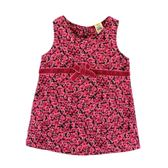 【愛的世界】甜心公主玫瑰條絨背心洋裝/2~4歲-台灣製- ★秋冬洋裝 保暖推薦
