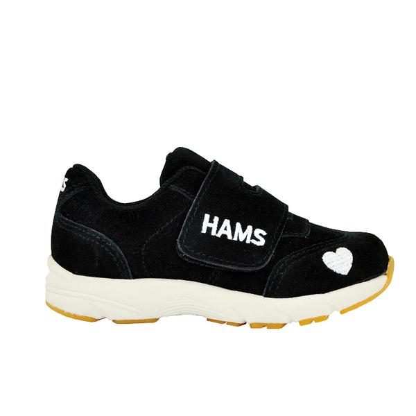 童鞋-HAMS馬卡龍運動鞋V2.0- 達克黑