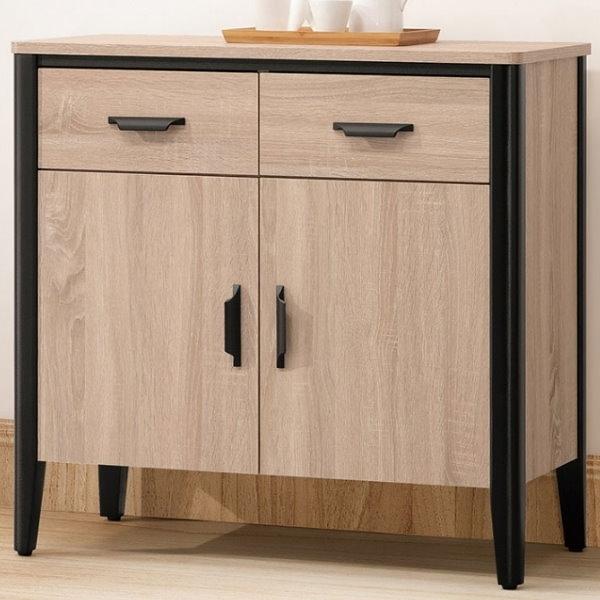 櫥櫃 餐櫃 QW-612-5 軒尼斯2.6尺餐櫃【大眾家居舘】